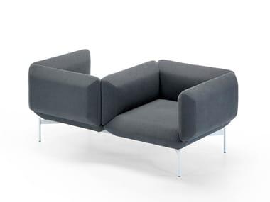 Fabric small sofa SEGMENT | Small sofa