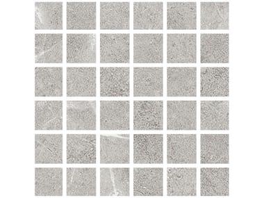 Mosaico in gres porcellanato SELECTION | Mosaico grey