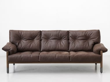 3 seater leather sofa SELLA
