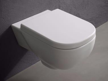 Wall-hung ceramic toilet SELLA | Toilet