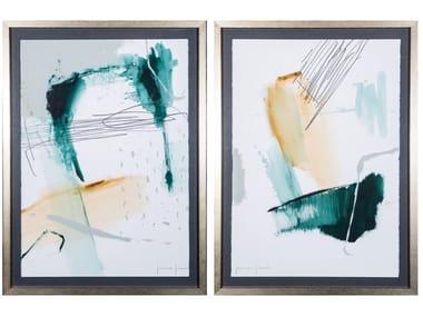 Paper Painting Selva I & II