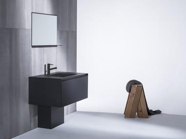 Stainless steel vanity unit SENCY VANITY