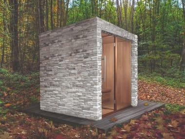 Sauna finlandese per esterno prefabbricata SENSATION OUTDOOR