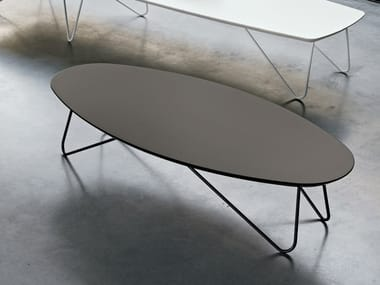 Oval coffee table for living room SENZATEMPO