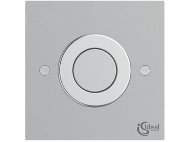 Wall-mounted stainless steel flush button SEPTA PRO P3
