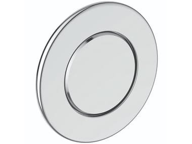 Wall-mounted stainless steel flush button SEPTA XS P1