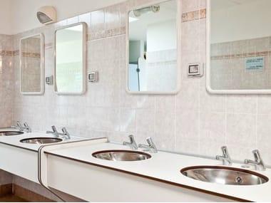 HPL washbasin top SERIE PLTOP AV