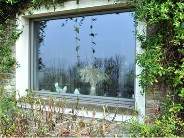 Wooden casement window SETA | Casement window