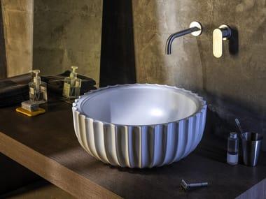 Lavabo da appoggio in ceramica SETTECENTO