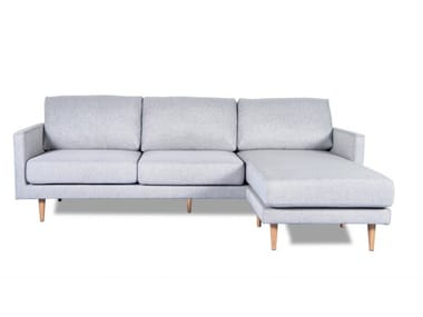 3 seater fabric sofa with chaise longue SF001 | Sofa
