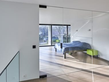 Glass Pivot Door With DG.8 Handle SGD FRAME A WAY
