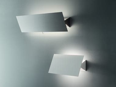 Adjustable metal wall lamp with dimmer SHADOW