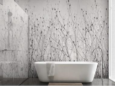 Papel de parede ecológico com suporte de reboco de flores SHADOWS SH 10