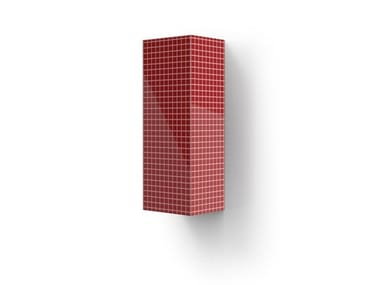 Elemento de pared vertical de MDF com porta SHARP BS-3P | Elemento de pared vertical
