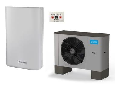 Pompa di calore ad aria/acqua in metallo SHERPA COLD