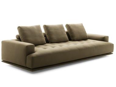 Fabric or leather sofa SHIKI | 4 seater sofa