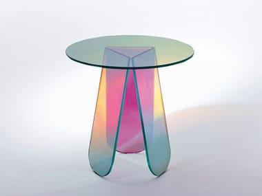 Pastel-coloured furniture
