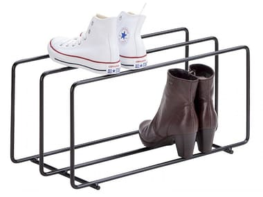 Metal shoe cabinet MIXRACK | Shoe cabinet