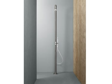 Floor standing shower panel with hand shower CD004 | Shower panel