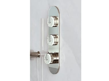 Thermostatic shower set with plate MOD+ | Shower set