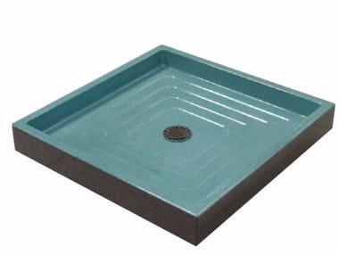 Glazed lava shower tray Shower tray