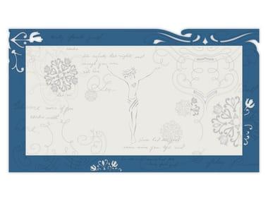MDF wall decor item SI-478XL-T7 | Wall decor item