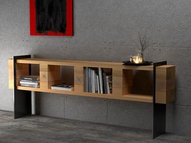 Beech storage/shelving sideboard SIDEBOARD #03
