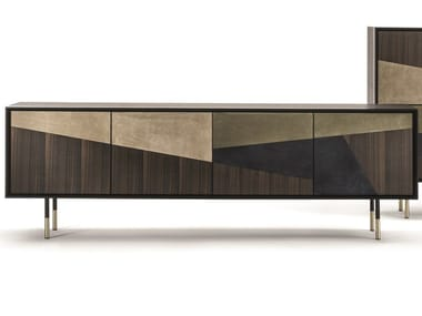 Wooden sideboard with doors NORMAN | Sideboard