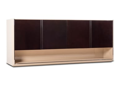 Lacquered wooden sideboard with doors FORTUNE | Sideboard