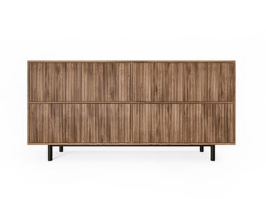 Wooden sideboard with drawers SEITON | Sideboard