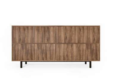 Buffet de madeira com gavetas SEITON | Buffet
