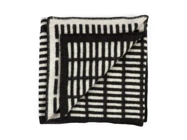 Reversible wool blanket SIENA | Blanket