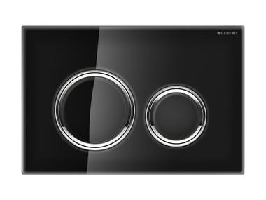 Glass flush plate SIGMA 21 | Glass flush plate