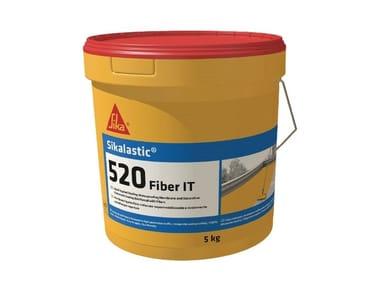 Impermeabilizzazione liquida SIKALASTIC 520 FIBER