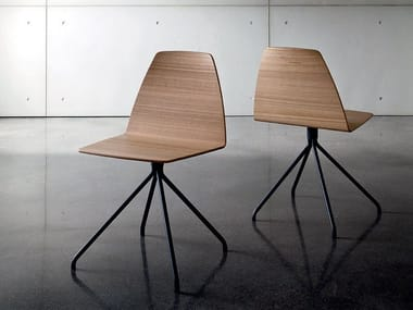 image related SILA TRESTLE | Multi-layer wood chair