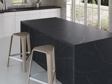 Silestone® kitchen worktop SILESTONE® ETERNAL CHARCOAL SOAPSTONE