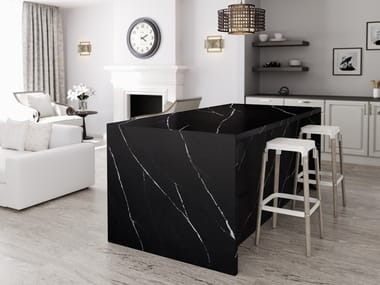 Silestone® kitchen worktop SILESTONE® ETERNAL MARQUINA