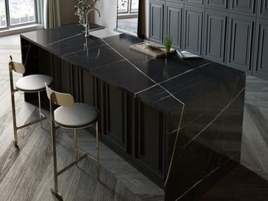 Silestone® kitchen worktop SILESTONE® ETERNAL NOIR