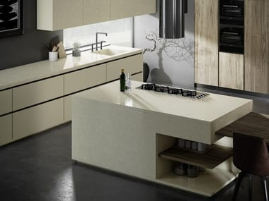 Silestone® kitchen worktop SILESTONE® ETERNAL SILKEN PEARL