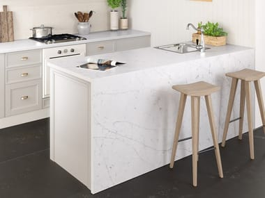 Silestone® kitchen worktop SILESTONE® ETERNAL STATUARIO