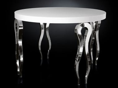 Round steel high table SILHOUETTE | High table