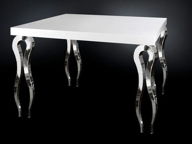Square MDF high table SILHOUETTE | Square table