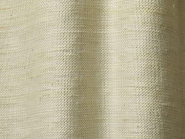 Solid-color linen fabric SILK SUGAR
