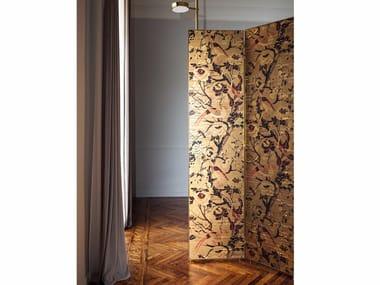 Fire retardant washable vinyl wallpaper SILKBIRD GOLD WALLCOVERING