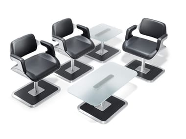 Ergonomic leather chair with armrests SILVER 810S