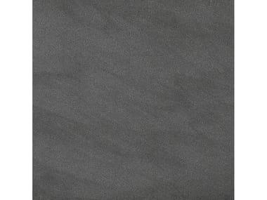 Pavimento/rivestimento in gres porcellanato per interni ed esterni SILVER STONE | GRAPHITE LISCIO
