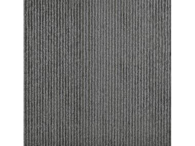 Pavimento/rivestimento in gres porcellanato per interni ed esterni SILVER STONE | GRAPHITE RIGA DRITTA