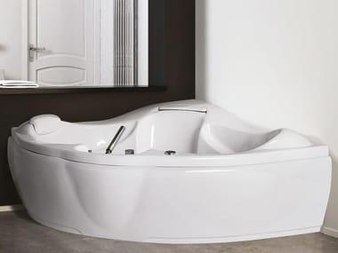 Vasca da bagno a 2 posti idromassaggio in acrilico SINERGIA