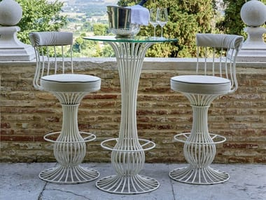 Iron high table SIRIO | High table
