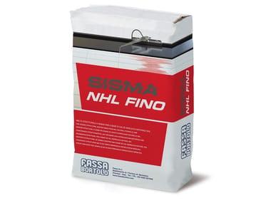Malta strutturale per sistemi FRCM SISMA NHL FINO